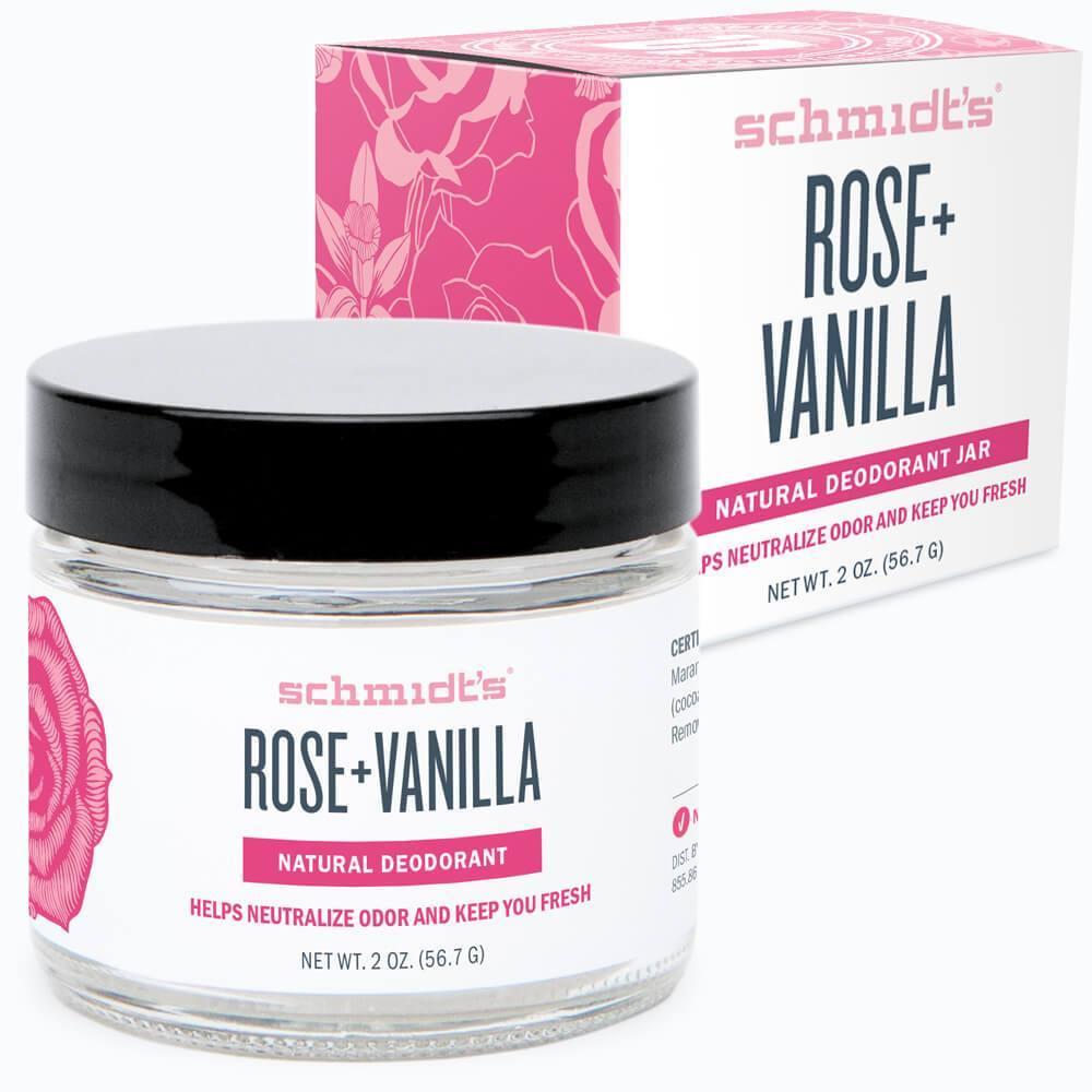 Rose + Vanilla Deodorant Jar