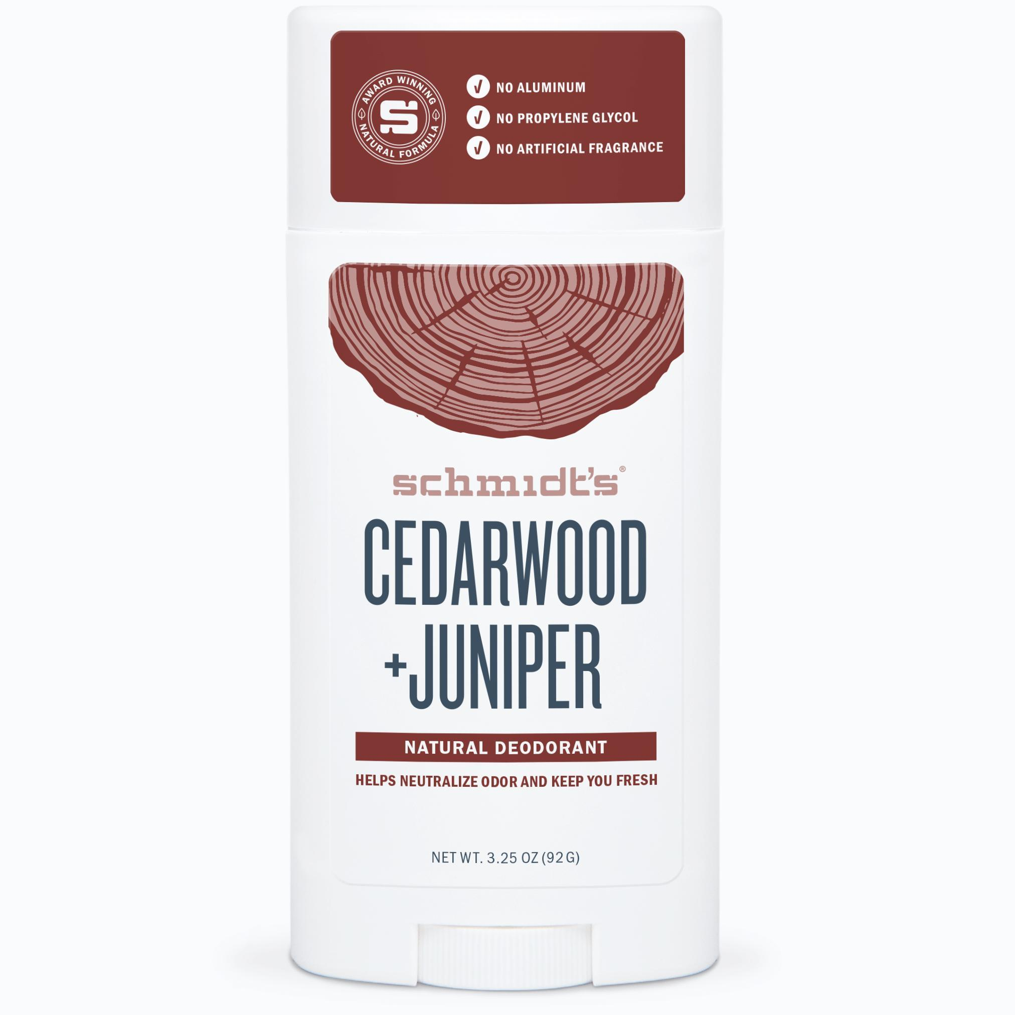 Cedarwood + Juniper Deodorant Stick