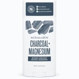 Charcoal + Magnesium Deodorant Stick Packaging