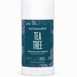 Tea Tree Sensitive Skin Deodorant Stick Packaging
