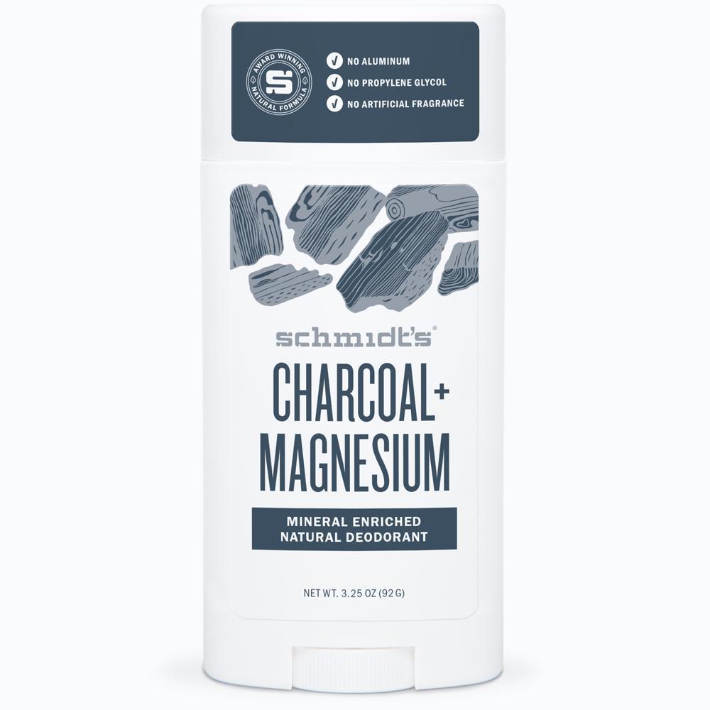 Charcoal + Magnesium Deodorant Stick
