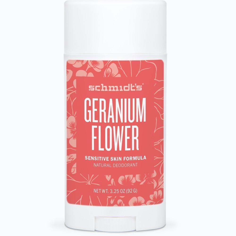 Geranium Flower Sensitive Skin Deodorant Stick